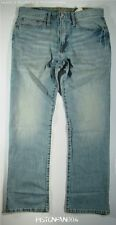 American Eagle Mens Light Indigo Relaxed Straight Jeans 33x34 NWT