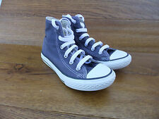 Converse CT All Star Blue Canvas Hi Top Trainers Size  UK 1  EUR 33