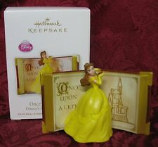 HALLMARK 2010 DISNEY'S BEAUTY AND THE BEAST ORNAMENT~ONCE UPON A TIME