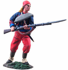 BRITAINS 31113 Union Infantry 114th Pennsylvania Zouaves Advancing at Ready #2