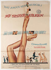 Vintage 1955 My Sister Eileen One-Sheet Movie Poster Mid-Century Leg Show View