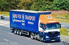 Truck Photo: David Fox Transport - MAN TGX - NX61 TXW - Middlesbrough Immingham