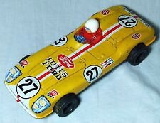 VINTAGE TIN TOY FRICTION LOTUS FORD RACING RACE SPORTS CAR C 1950S Y TOYS JAPAN