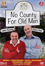 NO COUNTY FOR OLD MEN - 6 DVD BOX SET - JOHN THOMSON & SIMON DAY History Channel