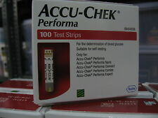 Accu-Chek Performa 500 Test Strips (5 Boxes x  100 Each) Exp: 31 May 2018