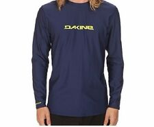 NWT Dakine Men's L Large Long Sleeve Loose Fit Rash Guard Navy Blue Heavy Duty