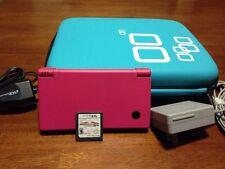 Nintendo Dsi Pink Mario Katt Ds With Travel Accessories!!