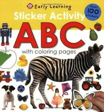 Sticker Activity ABC by Roger Priddy (Paperback) Preschool - 1 Brand New