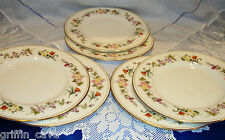 WEDGWOOD MIRABELLE Lunch Plates Perfect Individually Sold 23cm