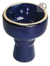 "3.1"" Long Blue Hookah Bowl Hooka Nargila Pipe Shisha Bowl"