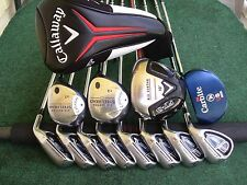 Callaway Adams Irons Driver Woods Putter Mens Complete Golf Club Set Right Hand*