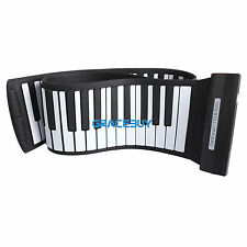 88 Keys Roll Up Electric Piano Keyboard Silicon Flexible Digital Electric Piano