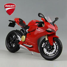 MAISTO Model 1/12 Scale Red Ducati 1199 Panigale Diecast Motorcycle Racing Moto