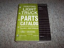 2008 Lincoln Navigator Factory Parts Catalog Manual L 4WD 5.4L V8