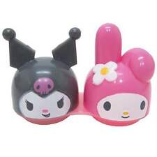 Sanrio My Melody Die-cut Contact Lens Case/Kuromi/For Soft Lens/Japan Only/New