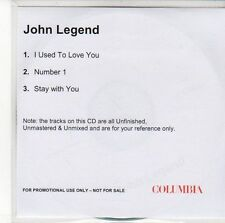 (EE372) John Legend, I Used To Love You - DJ CD