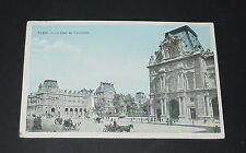 CPA 1910 CARTE POSTALE FRANCE PARIS LA COUR DU CARROUSEL