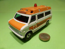 CORGI TOYS CHEVROLET CHEVY VAN - AMBULANCE EMERGENCY - 1:36? - GOOD CONDITION