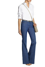 MIH MADE IN HEAVEN 'MARRAKESH' STRATA MID-RISE KICK FLARE JEANS *W25_UK 6* BNWT