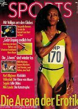 Magazin Sports 9,09/1991,Merlene Ottey,Allgöwer,Niki Lauda,1860 - Bayern München