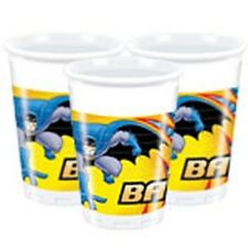 Batman Brave Party - 8 Pastic Cups 200ml - Birthday - £5 MAX POSTAGE IN  UK