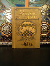 1887 Standard HOYLE Playing Cards Gambling Poker Gaming Chess Football Billiards