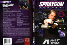 Airbrush action dvd-iwata spray gun manipulation techniques-kevin tetz