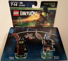 NEW LEGO DIMENSIONS FUN PACK THE WIZARD OF OZ WICKED WITCH 71221 FREE SHIPPING