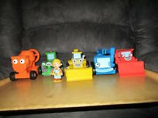 Bob The Builder 5 medium machines & Bob Fig, LOFTY, MUCK, ROLLEY, DIZZY & SCOOP
