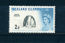 FALKLAND ISLANDS 1960 DEFINITIVES SG195 2d (PENGUINS)  MNH