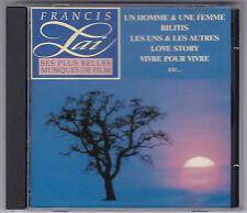 Francis LAI-ses plus belles musiques de film telstar CD 1991 France