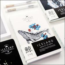 """""""Iceland"""" 1pc Planner Notebook Study Agenda Yearly Daily Working Scheduler Memo"""