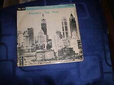 AMERICA'S TOP HITS - RARE 1959 GALA LABEL 4 TRACK E.P. - VG+