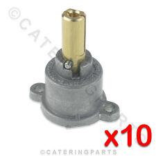 Confezione di 10 x Albero PEL 22A VALVOLA GAS CAP & pin per PEL22S FFD FSD 10mm 8mm RUBINETTO