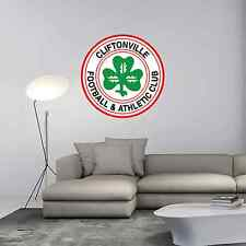 "Cliftonville FC Ireland Football Soccer Wall Decor Sticker Decal 22""X22"""