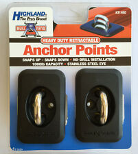 Highland  Heavy Duty Retractable Anchor Point Bull Ring for F150 Ram SierraTruck