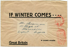 GERMANY 1922 NEWSPAPER WRAPPER METER FRANKING 400 RM INFLATION to SUFFOLK GB