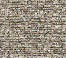 Paisaje de piedra arenisca de pared techo 48cm X 112 cm MAKOWER 1360 V 100% algodón