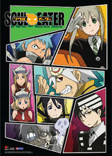 New Soul Eater Group Collage Shot Wall Scroll Anime Fabric Poster (GE-77576)