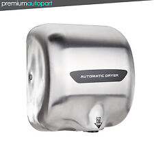 Automatic Hand Dryer High Speed Stainless Steel Auto Quick Dry1800W