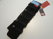 TRIPP NYC BLACK MILITARY GLOVES ARM WARMERS  NEW RARE HARD TO FIND