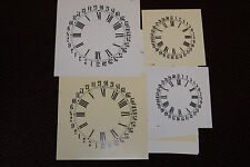 """8-PIECE CALENDER  DIAL ASSORTMENT  NEW PARTS 5"""" TO 11"""""""