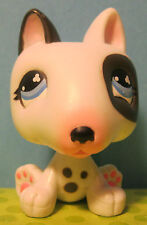 Littlest Pet Shop No # Diary Dog Bull Terrier Puppy Dog w/ Spotted Chest