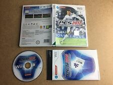 Pro Evolution Soccer 2012 - Nintendo Wii (TESTED/WORKING) UK PAL
