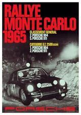 Porsche 911 *LARGE POSTER* 904 Rallye Monte Carlo 1965 Race - AMAZING ART PRINT