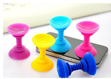 Lots Silicone Double sided Suction Cup Holder Sucker Stand For SmartPhone 2pcs