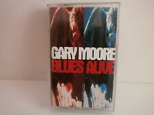 K7 GARY MOORE Blues alive TCV 2716  HOLLAND