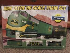 John Deere Train Set HO Scale 1997 Athearn LOCOMOTIVE STEAM ENGINE RAILROAD TOYS