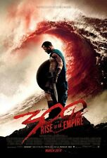 300 RISE OF AN EMPIRE DOUBLE SIDED ORIGINAL MOVIE film POSTER Blood Wave Style