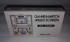 OIL PANIC - MULTI SREEN (GAME AND WATCH) (CAJA + CORCHO) (ONLY BOX)